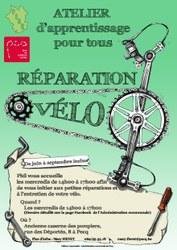 Atelier d'apprentissage réparation vélo