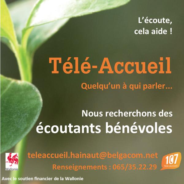 Télé-Accueil recherche des écoutants bénévoles — Administration ...