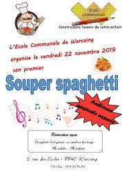 1er souper spaghetti