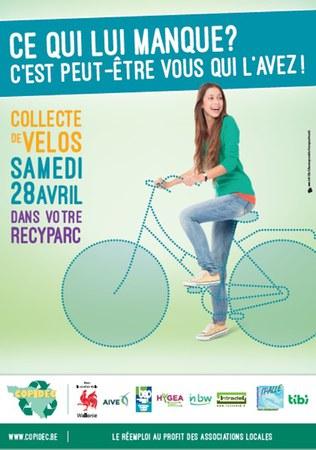 IPALLE -Collecte de Vélo 2018